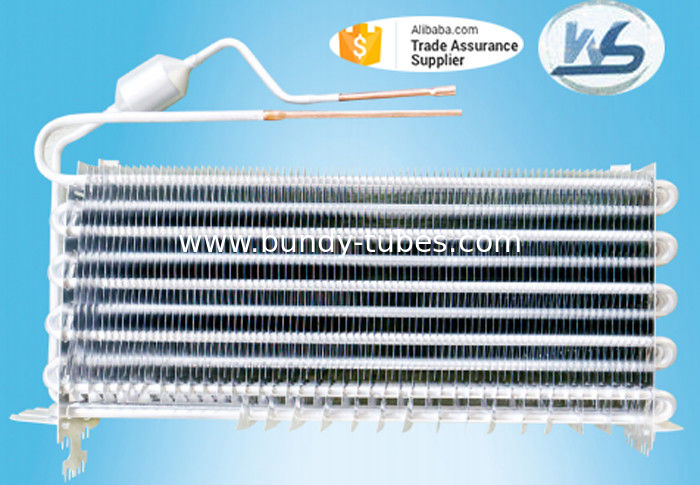 Aluminum Tube Evaporators With Standard ASTM A254 Be Used On Refrigeration System