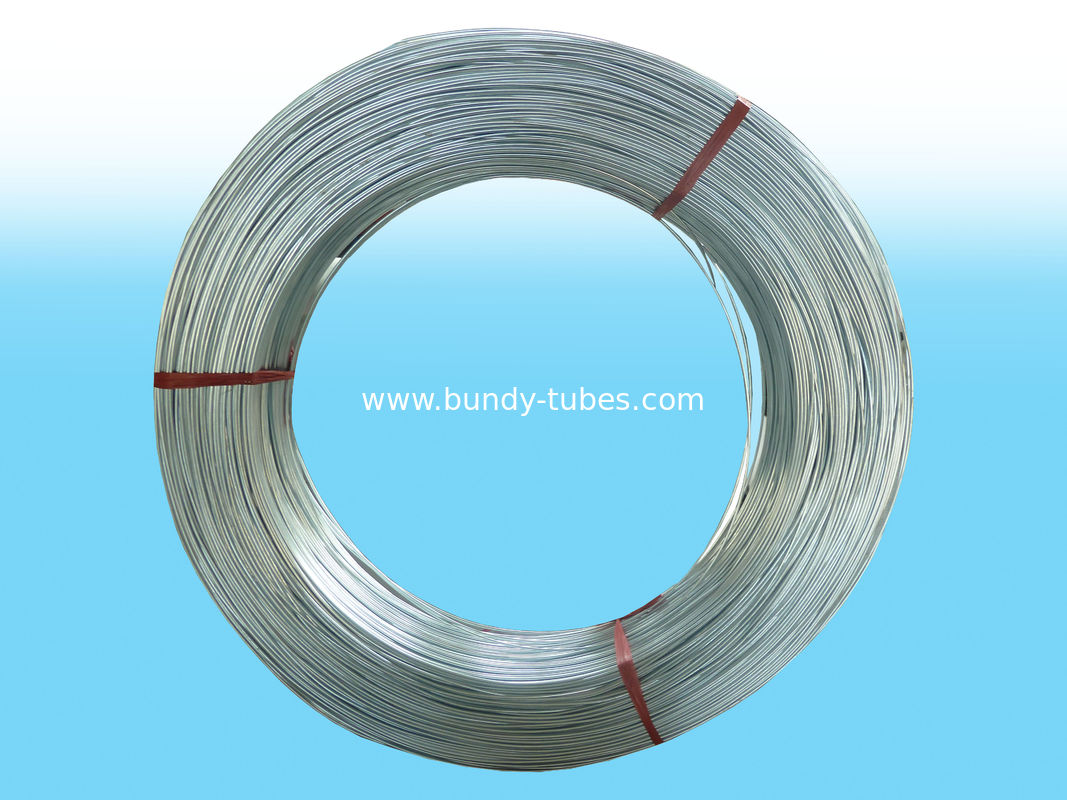 8*0.65mm High Frequency Galvanized Steel Tube With Certificate of ISO9001