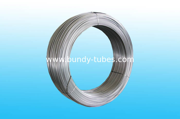 High Intensity Steel Bundy Tube 6mm X 0.5 mm , GB/T 24187-2009