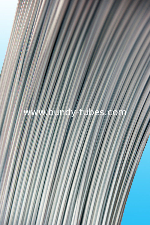 Welding tube for no coated plain steel bundy pipe 4.76mm X 0.6mm
