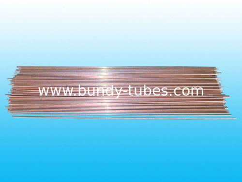 Low Carbon Double Wall Bundy Tub 8 * 0.7 mm / Welding Round Tubing