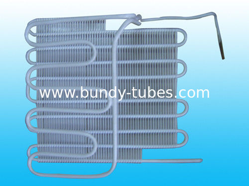 Good Cooling Effect 8 mm Steel Bundy Tube Refrigeration Evaporators