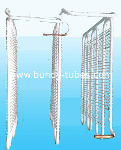 8mm Steel Tube , Wire On Tube Evaporator For Refrigerator