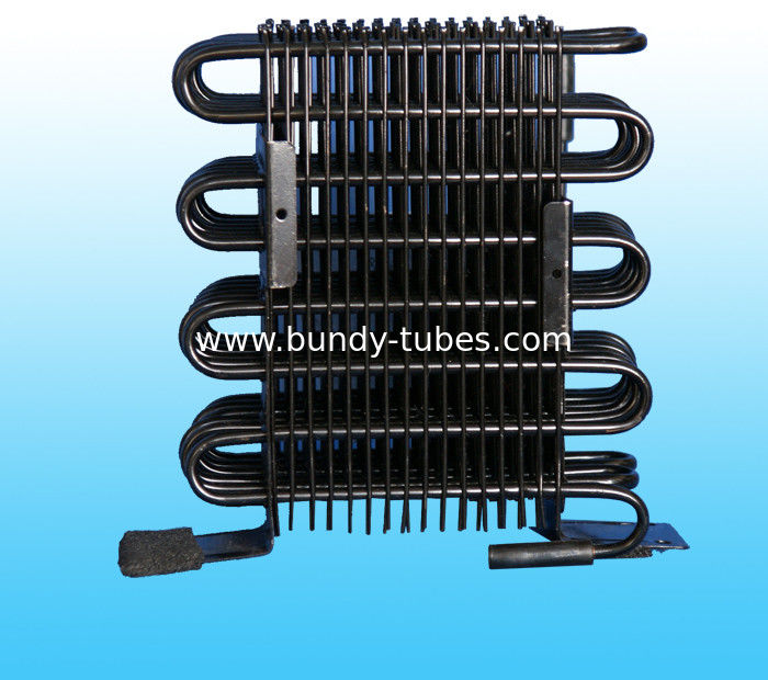 Environmental Wire Tube Condenser / Wire - on - Pipe Condenser GB / T23134-2008